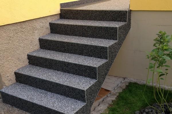 Revêtement Pour Escalier En Tapis De Pierres
