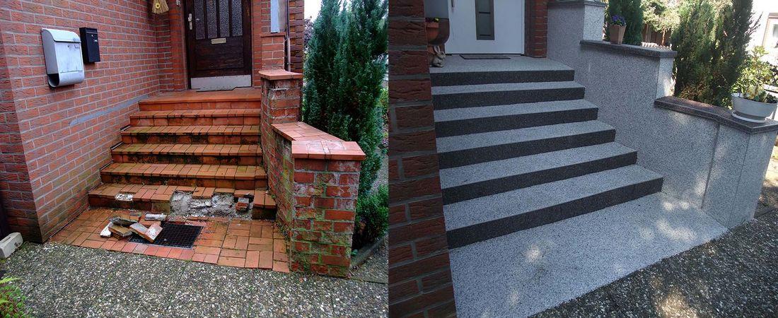 Renover un carrelage avec du tapis de pierre